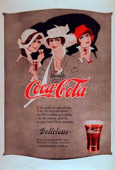 Vintage Coke/ Coca-Cola Advertisements of the 1910s