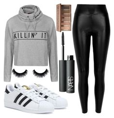 """""""Going out"""" by chlumblr on Polyvore featuring Ally Fashion, River Island, adidas, NARS Cosmetics and Urban Decay"""