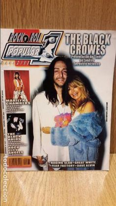 POPULAR 1 Nº 331 / THE BLACK CROWES - MARILYN CHAMBERS / THE BLACK HALOS / COMO NUEVA.