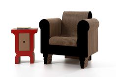talian company Kubedesign enlisted Roberto Giacomucci to design its latest collection called Cardboard Architectures. The entire series is constructed of cardboard, and yet doesn't look cheap or flimsy at all, in fact it is designed to explore the properties of cardboard as being strong and sturdy.