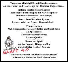 *SPECIAL* 09.07.16 MAMPF 4.0 eine kulinarische Reise durch's Saarland