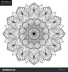 Flower Mandalas. Vintage Mandalas, Elements Mandala. Oriental Pattern With Mandala, Vector Illustration. Islam Mandalas, Arabic Mandala, Indian Mandala, Turkish, Meditation Mandalas, Ottoman Motifs - 542875969 : Shutterstock