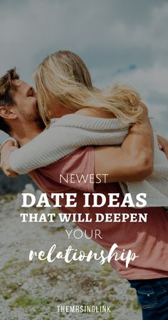 Newest Date Ideas That Will Deepen Your Relationship | #dateideas #relationships #marriage #couples #datingideas | Relationship Tips | Relationship Advice | Marriage Advice | Marriage Tips | Strengthening Your Relationship & Marriage | theMRSingLink