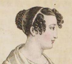 1818 Tagesfrisur