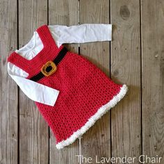 Mrs Claus Winter Dress crochet pattern is an amazing addition to our holiday collection on The Lavender Chair! Check out the FREE pattern HERE