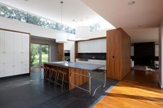 Nice way to bring natural light into a kitchen