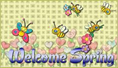 Welcome Spring blank