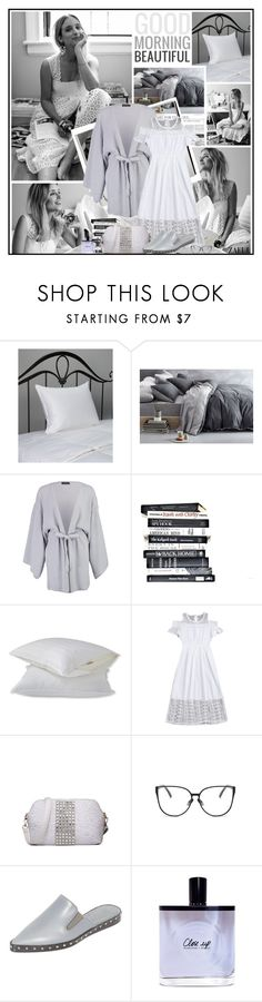 """""""Good morning beautiful"""" by katik27 ❤ liked on Polyvore featuring DOWNLITE, Boohoo, L.L.Bean, Jenni Kayne, Olfactive Studio and Benefit"""