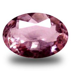 Morganite 110802: 0.50 Ct Magnificent Fire Oval Cut (6 X 5 Mm) Pink Color Morganite Gemstone -> BUY IT NOW ONLY: $34.99 on eBay!