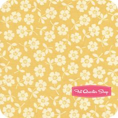 Seaside Yellow Bikini Floral Yardage SKU# C2961-YELLOW
