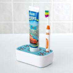 Kids' Bath Gear: Kids' Colorful Toothbrush Holders - Land of Nod