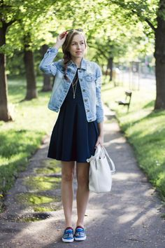 A Cup Of Style: what i wore Well Dressed, What I Wore, Youtubers, Fashion Beauty, Fashion Inspiration, Celebrity, Street Style, Denim, Summer