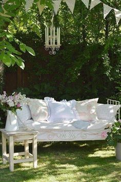 32 Best Ideas For Cottage Garden Seating Inspiration