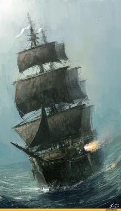 арт,корабль