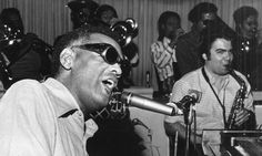 Ray Charles and his band at the Elmwood Casino in Windsor, during a stint from July 26 to August 5,1972.