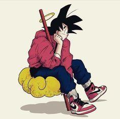 Online shopping for Dragon Ball with free worldwide shipping Dope Cartoons, Dope Cartoon Art, Swag Cartoon, Anime Zone, Character Art, Character Design, Goku Wallpaper, Hypebeast Wallpaper, Dope Art