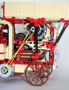 LEGO Ideas - Big Steam Tractor