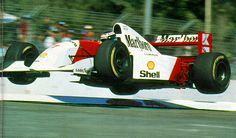 Mika Hakkinen, Adelaide 1993, McLaren MP4/8 - 2 years later the same track nearly claimed his life.