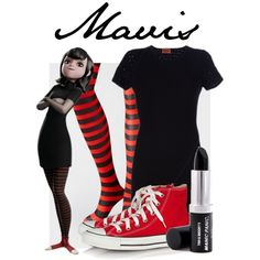 """Mavis from Hotel Transylvania"" by lazybottoms on Polyvore"