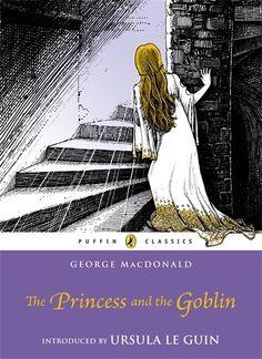 The Princess and the Goblin (Puffin Classics) by George MacDonald http://www.amazon.com/dp/0141332484/ref=cm_sw_r_pi_dp_1u3Ttb0FZ89XNXET
