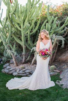 gorgeous palm springs wedding