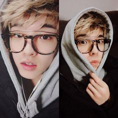Literally cant get blonde hair with glasses Jae out my head He just looks sooo good Jae Day6, K Pop, Chicken Little, Rapper, Park Jae Hyung, Kim Wonpil, Young K, Vixx, Boyfriend Material