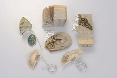 "Shiri Avda, Israel, Jewelry Collection -  ""The Mechanism of Reading"""