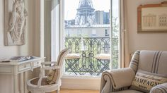 Paris apartment rentals with Eiffel Tower views (2 bedroom Cognac apt. Is s favorite)