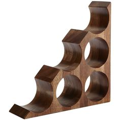See this and similar Pier 1 Imports bar tools - Acacia wood—it's pretty. And hard. And pretty hard not to touch, too. Take this striking handcrafted wine rack f...