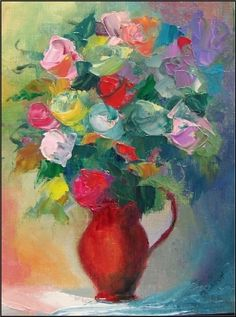 """""""Happy ever after bouquet"""", painting by artist Maryanne Jacobsen"""