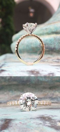 56 Simple Engagement Ring for Girls Who Love