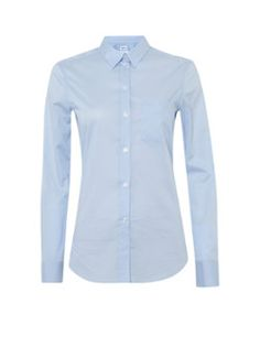 Filippa K Lichtblauwe getailleerde blouse