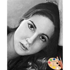 Young Woman Portrait 100