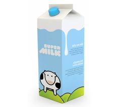 57 Milk Packaging Design Inspiration | Voices inside My Head