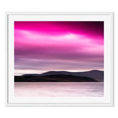Gallery Direct Vivid Norway Landscape Print on Paper Framed Print