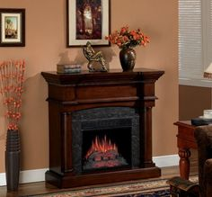 Classic Flame Martha's Vineyard Electric Fireplace - 18DM2105-M319 | seattleluxe.com