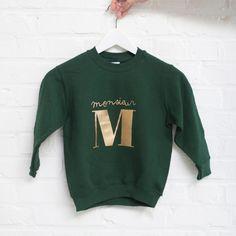 sweater 'ALPHABET' / KIDS - Anna et Maman - via http://www.annaetmaman.be