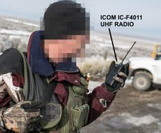 Militant at Oregon 2016 armed standoff uses an Icom UHF radio to communicate Survival Stuff, Survival Skills, Portable Ham Radio, Radio Frequency, Oregon, Digital, Ham Radio