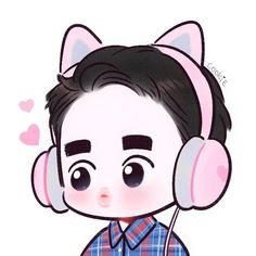 62 Best Ideas For Cookies Cute Illustration D O Exo, Exo Do, Exo Cartoon, Cartoon Art, Kyungsoo, Kaisoo, Chanyeol, Exo Stickers, Exo Anime