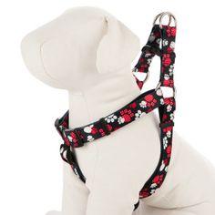 Grreat Choice® Ploka Dot Paw Dog Harness
