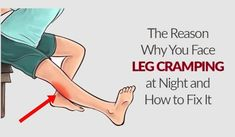 Leg cramps are a common issue that tortures many people during sleep, and they are unexpected and fast muscle spasms or contractions, felts in the thighs, feet, and calves. They usually occur after the person falls Holistic Remedies, Holistic Healing, Home Remedies, Natural Remedies, Holistic Medicine, Health Remedies, Muscle Spasms, Muscle Pain, Leg Spasms