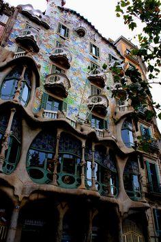 Guadi house barcelona