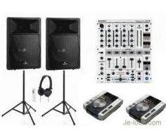 Location pack sono avec platines Pioneer