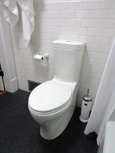 Steve Carbin Vipp Toilet Brush Holder in White Bathroom