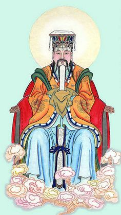 Jade Emperor (or Yuhuang Dadi in mandarin Chinese) is the highest deity ruling the universe. He controls all gods of the Buddhist and Taoist religions and others described in all mythological stories. Jade Emperor is worshipped by ordinary Chinese people throughout all China.