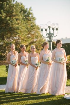 Jenny Yoo Bridesmaids | photography by http://www.rebecca-arthurs.com