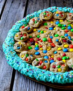 Yammie's Glutenfreedom: Giant Chewy Chocolate Chip M&M Cookie Cake (Gluten Free!)#EIq3XhwjgJz7It5g.32#EIq3XhwjgJz7It5g.32#EIq3XhwjgJz7It5g.32