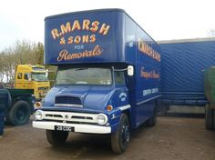 Ford Thames Trader removal