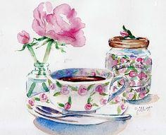 Carol Gillott, paris breakfasts