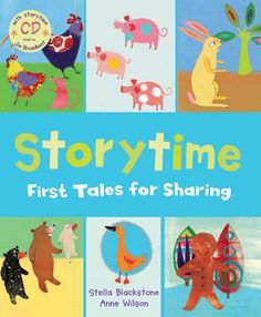 Storytime - First Tales for Sharing - This classic collection of folk tales from around the world includes The Gingerbread Man story. Picture book with story CD.